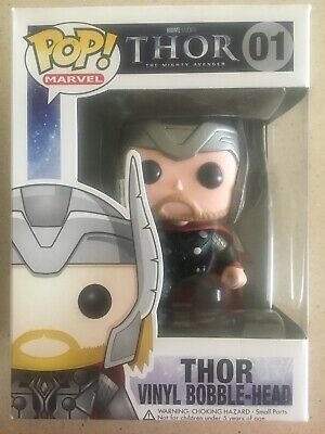 Funko Pop Marvel 1 Thor Damaged Box