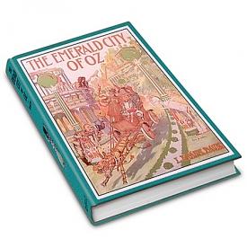 L. Frank Baum First Edition Replica: The Emerald City Of Oz Book