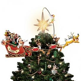 Disney's Timeless Holiday Treasures Tree Topper