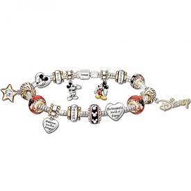 A Walt Disney Style Celebration: Mickey Mouse Charm Bracelet