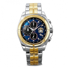 Commemorative U.S. Navy Men's Chronograph Watch