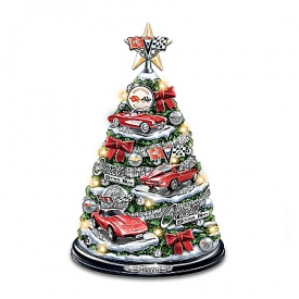 Corvette Tabletop Christmas Tree: Oh What Fun It Is To Drive