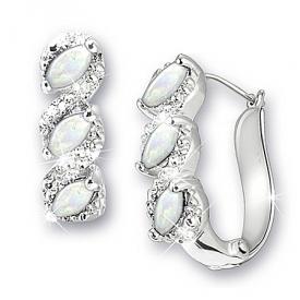 Celebration Birthstone And Diamond Earrings