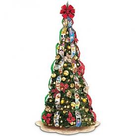 Ultimate Disney Wondrous Christmas Pre-Lit Pull-Up Christmas Tree