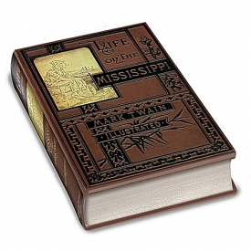Mark Twain First Edition Replica: Life On The Mississippi Book