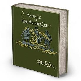 Mark Twain First Edition Replica: A Connecticut Yankee In King Arthur's Court Book