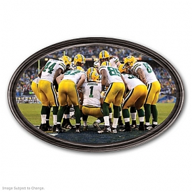 Wall Decor: Going The Distance Green Bay Packers Personalized Wall Decor