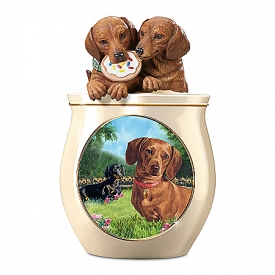 Cookie Jar: Cookie Capers: The Dachshund Cookie Jar