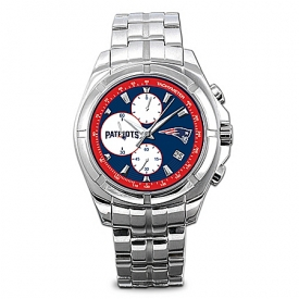 Watch: New England Patriots NFL Chronograph Men's Watch