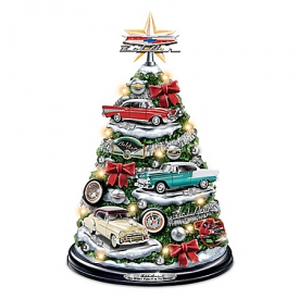 Chevrolet Bel Air: Oh What Fun It Is To Drive Illuminated Tabletop Tree