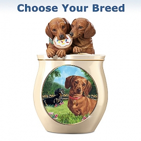 Cookie Jar: Cookie Capers Choose A Breed Cookie Jar