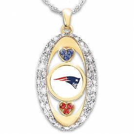 For The Love Of The Game New England Patriots Pendant Necklace