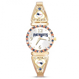 """My Patriots"" Officially Licensed New England Patriots Women's Watch"