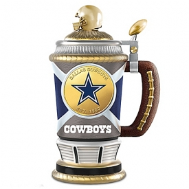 Dallas Cowboys Collector's Football Stein