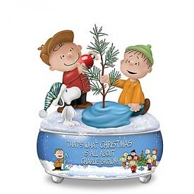 A Charlie Brown Christmas Sculptural Music Box