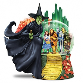 I'll Get You My Pretty WICKED WITCH OF THE WEST Glitter Globe
