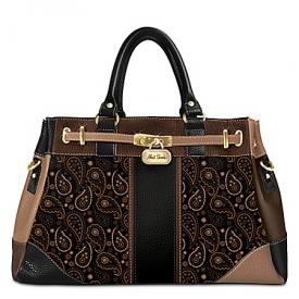 Alfred Durante Tribeca Paisley Handbag
