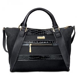 Alfred Durante Urban Chic Faux Suede Handbag