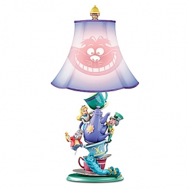 Disney Alice In Wonderland Mad Hatter's Tea Party Table Lamp