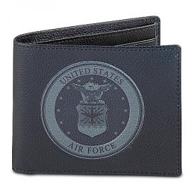 Air Force Men's RFID Blocking Leather Wallet