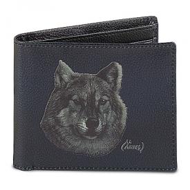 Lone Wolf Men's RFID-Blocking Leather Wallet