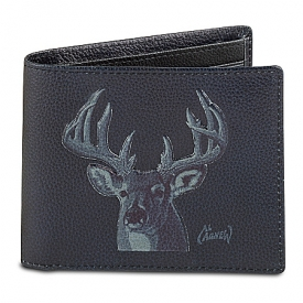 10-Point Buck Men's RFID Blocking Leather Wallet