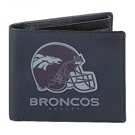 NFL Denver Broncos Men's RFID Blocking Leather Wallet