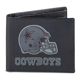 NFL Dallas Cowboys Men's RFID Blocking Leather Wallet