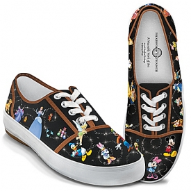 Disney Magic Characters Women's Canvas Shoes