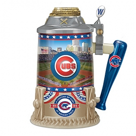 Century Of The Chicago Cubs Wrigley Field Porcelain Stein