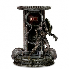 Alien Illuminated Digital Clock