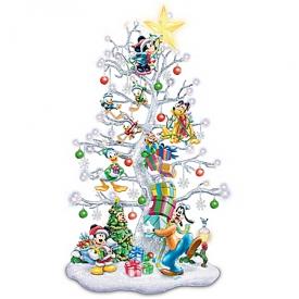 Magic Of Disney Pre-Lit Tabletop Christmas Tree