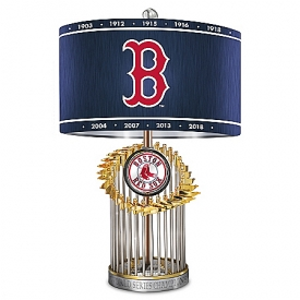 Boston Red Sox World Series Lamp