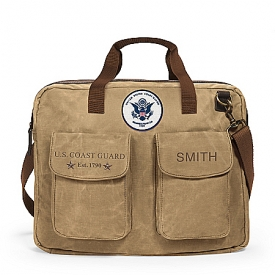 U.S. Coast Guard Personalized Messenger Tote Bag