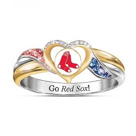 Boston Red Sox MLB Women's Pride Ring