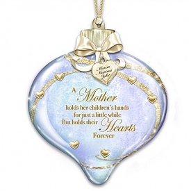 A Mother's Heart Personalized Ornament