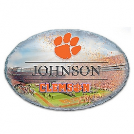 Clemson University Personalized Outdoor Welcome Sign