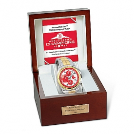 2018 World Series Champions Boston Red Sox Stainless Steel Men's Watch