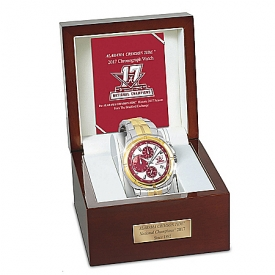 Alabama Crimson Tide 2017 Football National Champions Men's Commemorative Chronograph Watch