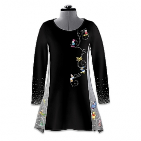 Disney It's All About The Magic Women's French Terry Knit Tunic Shirt