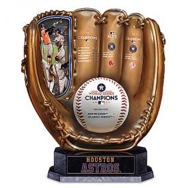 2017 MLB World Series Champions Houston Astros Cold-Cast Bronze Glove Sculpture