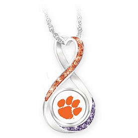 2018 Football National Champions Clemson Tigers Women's Pendant Necklace
