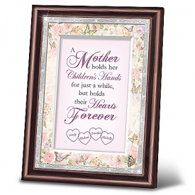 A Mother's Love Personalized Heirloom Frame Wall Decor