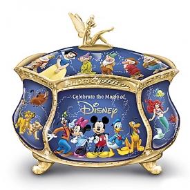 Ultimate Disney Heirloom Porcelain Music Box