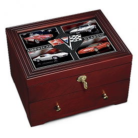 Corvette: American Classic Wooden Keepsake Box