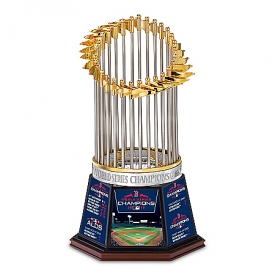 2018 MLB World Series Champions Boston Red Sox Handcrafted Trophy Sculpture
