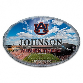 Auburn University Tigers Personalized Outdoor Welcome Sign