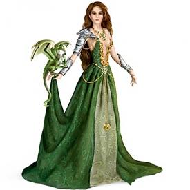 Emerald Enticement Fantasy Doll