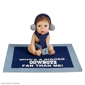 Who's A Bigger Cowboys Fan Than Me Baby Doll