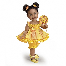 Buttons And Bows Child Doll